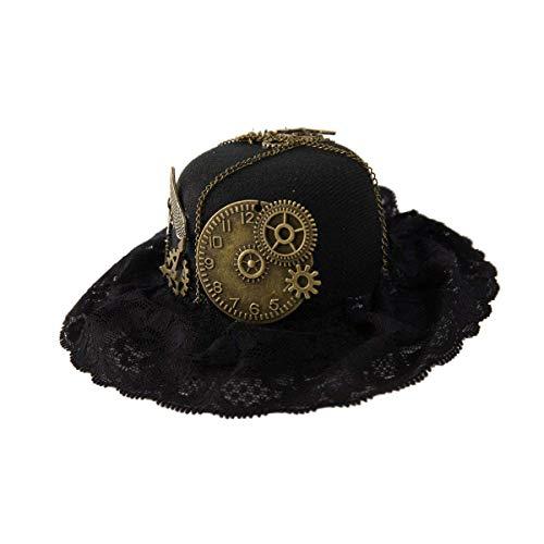 dream cosplay Pinza de Pelo del Cordón del Sombrero de Steampunk de M