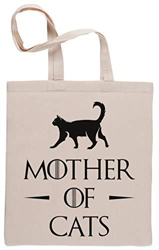 Mother of Cats Bolsa De Compras Shopping Bag Beige