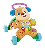Fisher-Price Cagnolino Primi Passi Spingibile, Giocattolo Elettronico Educativo con Musica...