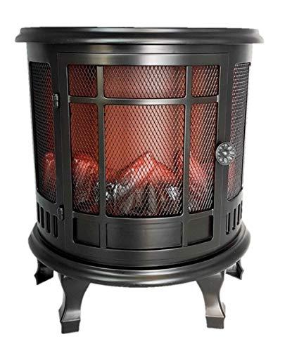 LED Kamin Flammeneffekt Kaminfeuer Tischkamin Standkamin Dekoration (30 x 35 x 15,5 cm)