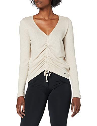 Pepe Jeans Claire Camiseta, Beige (Natural 816), Medium para Mujer