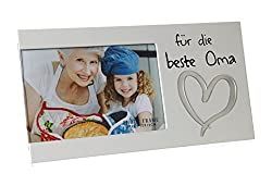 Bilderrahmen für ein Foto mit Spruch - Für die beste Oma