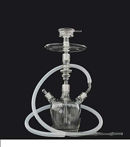 Aladin Shisha Wasserpfeife Nebula Proteus Glasshisha 39 cm