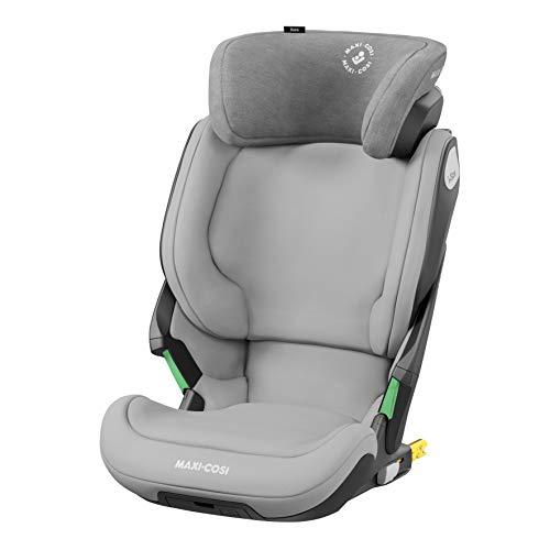 Maxi-Cosi Kore i-Size - Seggiolino auto per bambini, con installazione ISOFIX, 3,5-12 anni, 100-150 cm, colore: Grigio autentico