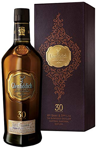 Glenfiddich 30 Year Old Single Malt Scotch Whisky, 700 ml