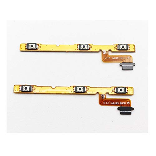 HenShiXin Duradero 20pcs / Lot, For ASUS Zenfone 4 MAX Pro ZC554KL Volumen Interruptor de Encendido Fuera de Tono flexión del botón del Cable sostenido