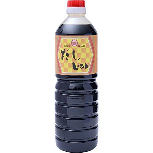 二反田醤油 だし醤油 1L