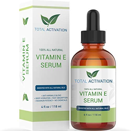 Total Activation Vitamin E Oil 100 Pure Cold Pressed Natural Antioxidant Dry Skin Treatment product image