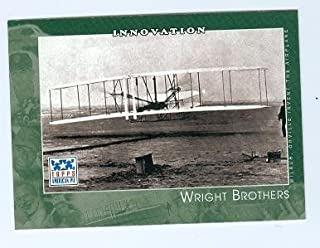 Wright Brothers trading card (Air Aviators) 2002 Topps American Pie #99 Wilbur Orville Wright