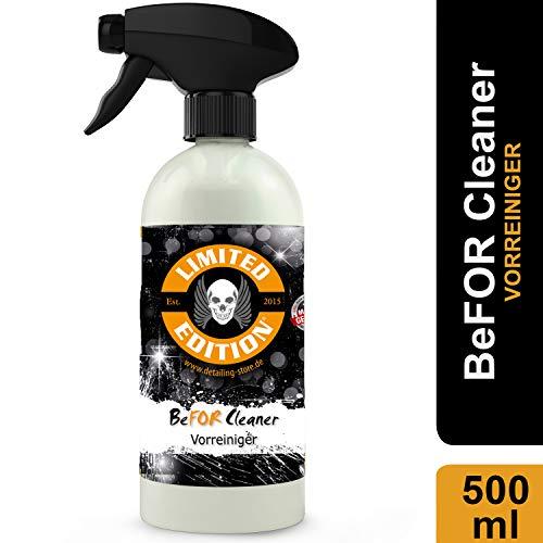 Limited Edition - BeFor Cleaner - 500ml - Vorreiniger - Der Reiniger entfernt Insektenreste, Teerflecken, Flugrost, UVM.