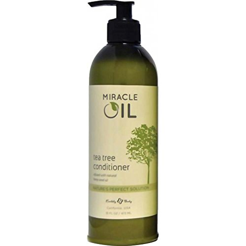 Earthly Body Miracle Oil Tea Tree Conditioner 16oz