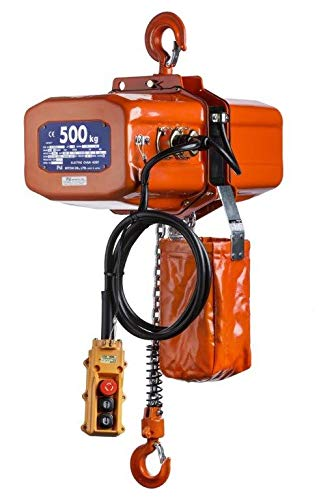 NITCHI ECT4 Elektrische Kettingtakel 0,5t / 500kg - Diverse Hijshoogtes
