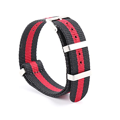 19/20/21/22mm Belts OTAN Deportes correa de reloj de pulsera de correas de reloj Nylon, Tipo 6, 21mm