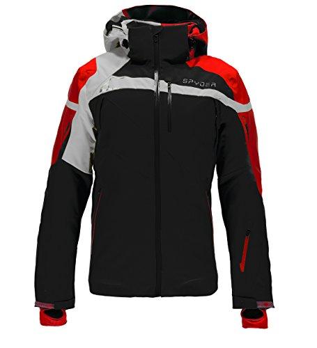 Spyder Titan Jacket, Black/Formula/Cirrus, Small
