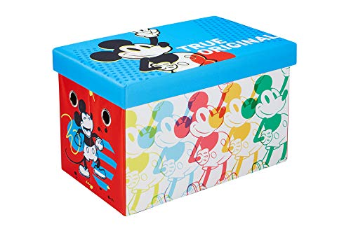Disney Mickey Mouse Storage Chest, 24-inch Toy Organizer