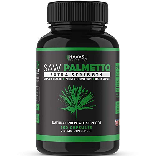 multi purpose men supplements Havasu Nutrition Saw Palmetto Supplement | Prostate Health, Hair Loss, DHT Blocker | Supports frequent urination.Gluten-free, non-GMO, 100 saw palmetto capsules