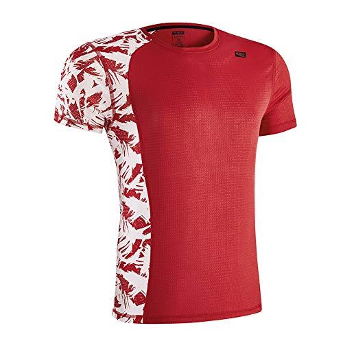 42K Running - Camiseta técnica Lotus Fire Red Hombre XXL