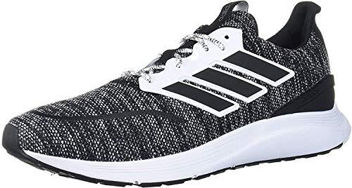 Adidas Men's ENERGYFALCON CBLACK/FTWWHT Running Shoe-8 Kids UK (EE9856)