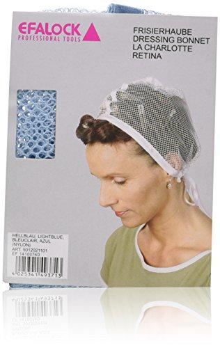 Efalock - Gorro de peluquería, color azul claro
