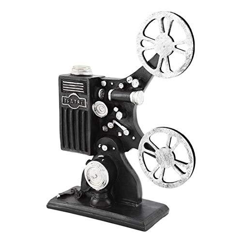 Wifehelper Projecteur De Film Modèle, Film De Film De Résine Vintage Prop Artisan Modèle Ornement Props Home Decor pour Photographie Studio De Mariage