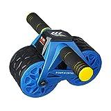 ボディスカルプチャー BODY SCULPTURE 腹筋ローラー パワーローラーコア ブルー 引き起しアシスト機能搭載 高密度マット付き 大型ローラー アブトレーニング TKS71HM020