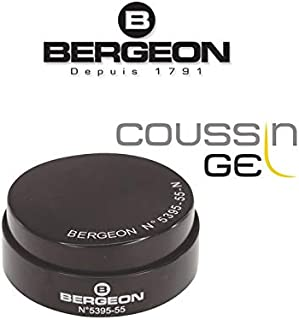 Bergeon 5395-55-N Soft Gel Watch Case Casing Cushion 55 mm Black