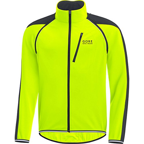Gore Wear Phantom Plus Zip-Off Chaqueta, Hombre, Amarillo (Neon Yellow/Black), M