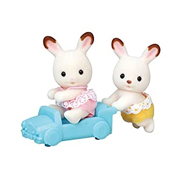 Calico Critters Hopscotch Rabbit Twins Assorted Dolls Collectible Toys  ASSORTED STYLES