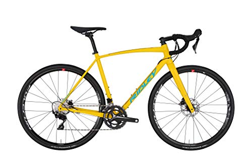 Best Prices! X-Trail A 105 HDB Medium Road Bike, Yellow