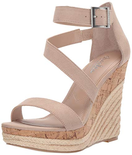 Charles by Charles David Women's Adrielle Wedge Sandal, Nude, 10 M US