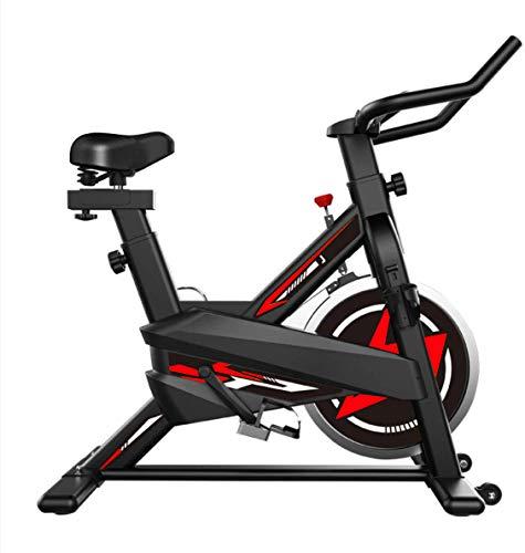 zkhysm - Bicicleta de interior - Bicicleta estática con pantalla LCD para casa y gimnasio, ideal para fitness - Máquina de cardio