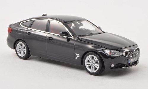 BMW 3er GT (F34), met.-schwarz , 2013, Modellauto, Fertigmodell, iScale 1:43