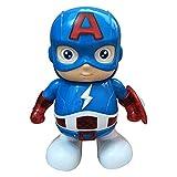 ダンスアイアンマン - 7.5インチ、キャプテンアメリカ、アベンジャーズ、子供用おもちゃ、ダンスロボット