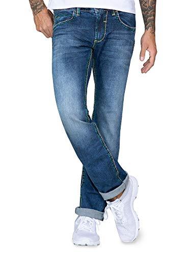 Camp David Herren Bootcut Blue Jeans
