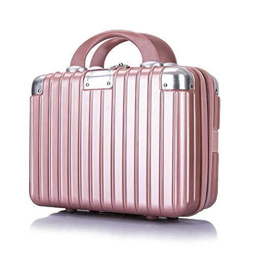 Cosmetic Bag Fashion Organizer Travel Makeup Cosmetic Case Makeup Bags Cosmetic Professional-Rose_Gold_30 * 26 * 17cm