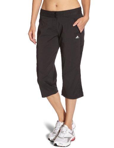 adidas Damen Hose Seperate S Clima Core Woven Stretch 3/4, black/black/neo iron metallic f11, 34, X20234