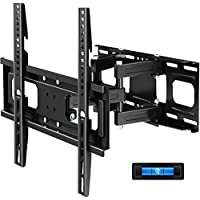 BLUE STONE Full Motion 32-65 Inch TV Wall Mounts for Flat Screen TVs with Articulating Dual Arms Tilt Swivel 14