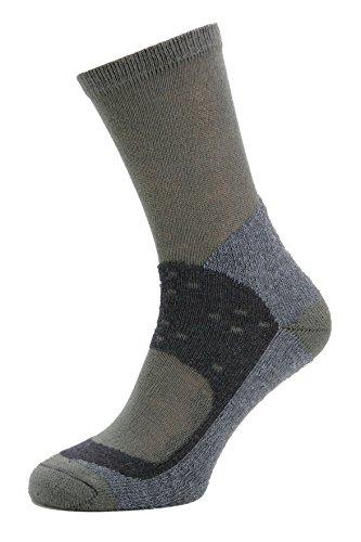Miribung - Calcetines de de trekking Cool-Comfort con efecto relajante y refrescante para unos pies secos, calidad alpina, fabricado en Alto Adige, Grigio, corte, XL