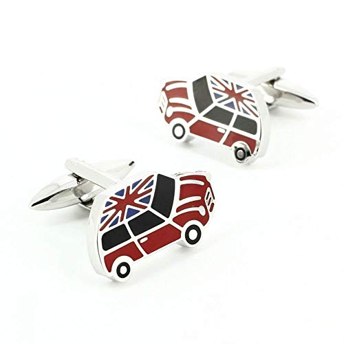 Cravate Avenue Signature - Boutons De Manchette, Union Jack Mini