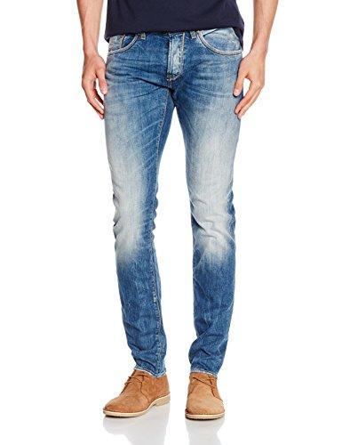 Herrlicher Herren Trade Denim Stretch Slim Jeans, Blau (Radiated 624), W30/L32 (Herstellergröße: 30)