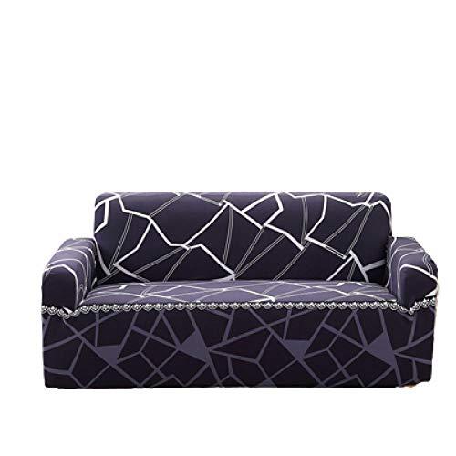Funda de sofá con Todo Incluido, Moderno, Estampado, elástico, Protector de Muebles para sofá, Funda de sofá seccional, Fundas de sofá en Forma de L para sofá de 3 Cojines,Color 1,4 Seater 235-300cm