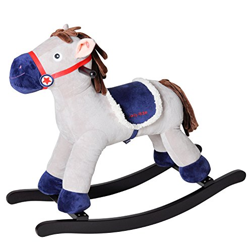 Knorrtoys 40570 knoortoys Rocking Pony Fritz, Multi Color