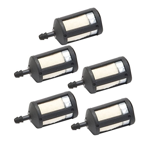 Oregon 07-209 (5 Pack) Fuel Filter 1/8In 175 Micron Replaces Zama ZF3 # 07-209-5pk