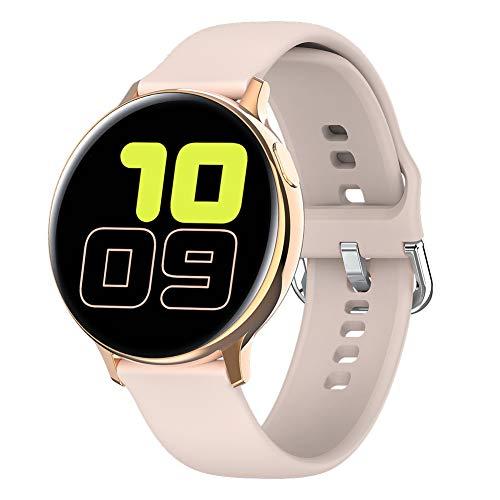 Padgene Smartwatch Reloj Inteligente IP68 Impermeable para Hombre Mujer, Pulsera de Actividad con Monitor de Sueño, Control de Música, Notificación de Llamada Mensaje para Android e iOS