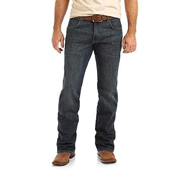 Wrangler Men s Retro Relaxed Fit Boot Cut Jean Falls City 33X34