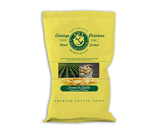 Fox Natural Quality Vintage Potatoes Crema di Cipolla - 300 g