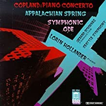 Copland: Piano Concerto; Appalachian Spring; Symphonic Ode