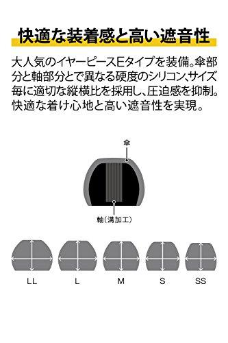 ファイナル『E2000カナル型イヤホンマットブラックFI-E2DAL』