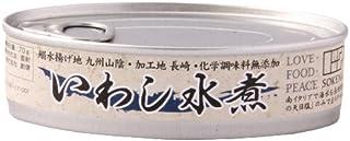 創健社 いわし水煮 100g×6缶