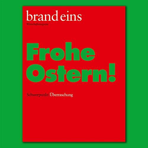 brand eins audio: Überraschung  By  cover art